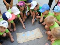 """В первые дни сентября в подготовительных группах  детского сада состоялась игра - квест  """"Путешествие за секретами здоровья"""""""