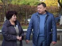 1 ноября - глава городской Администрации, ЛУКАШЕВ Игорь Михайлович, посетил наш детский сад