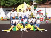 16 мая на базе школы №24 состоялся городской флешмоб «Футбол собирает друзей» и финал спартакиады «Новое поколение выбирает футбол», приуроченный к Чемпионату мира по футболу 2018 года.