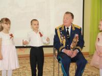 12 апреля состоялась встреча с генерал-майором воздушно-десантных войск Волковым Александром Петровичем в преддверии празднования 75-й годовщины освобождения Симферополя от немецко-фашистских захватчиков