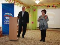 Встреча коллектива детского сада с депутатом Симферопольского городского совета Ю.Ю. Нестеренко