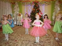 В детском саду прошли новогодние утренники
