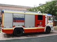 """В гости к ребятам """"Катюши"""" приехала пожарная машина"""