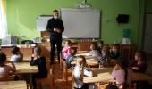 Встреча с инспектором по пропаганде БДД ОГИБДД УМВД России по г. Симферополю.